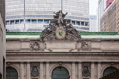 中心城市全部新的最终约克 免版税库存图片