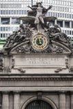 中心城市全部新的最终约克 免版税库存照片