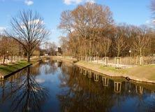 中心城市公园tiergarten 免版税库存图片