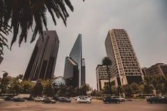 中心城市墨西哥 库存照片