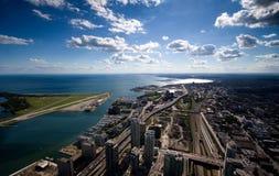 中心城市多伦多 免版税库存照片