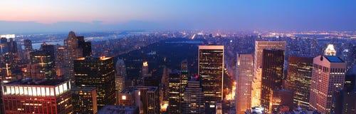 中心城市新的全景公园约克 免版税图库摄影