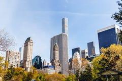 中心城市新的公园约克 免版税图库摄影