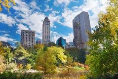 中心城市曼哈顿新的公园约克 库存图片