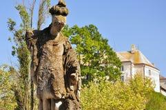 中心城市科鲁人napoca公园罗马尼亚位于了雕象 库存照片