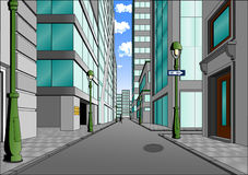 中心城市街道