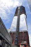 中心塔贸易世界 免版税库存照片