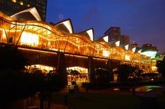 中心常规吉隆坡 库存照片
