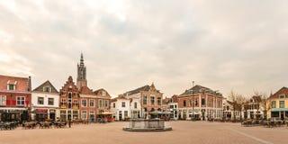 中心广场在荷兰市阿莫斯福特 库存照片
