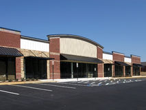 中心建筑购物 库存图片