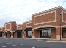 中心建筑购物 库存照片