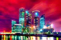 中心建筑 免版税图库摄影