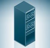 中心数据互联网服务器 免版税库存照片