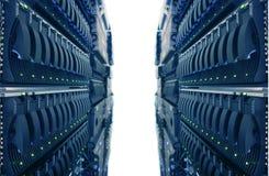中心数据互联网 库存图片