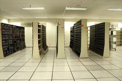 中心数据 图库摄影