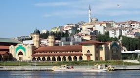中心文化伊斯坦布尔sutluce 库存图片