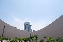 中心文化香港 免版税库存照片