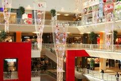 中心新的购物年 免版税库存照片