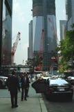 中心新的重建贸易世界约克 免版税库存图片