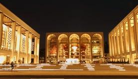 中心林肯纽约 免版税图库摄影
