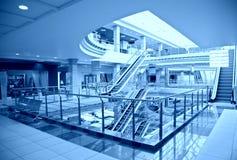 中心楼层购物 库存图片