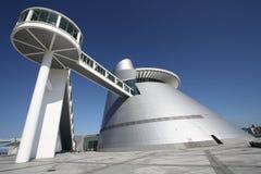 中心横向澳门博物馆科学 免版税库存照片
