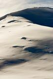 中心横向mavrovo滑雪 库存照片