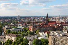 中心汉诺威视图 库存照片