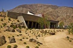 中心沙漠掌上型计算机访客 免版税库存照片