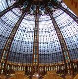 中心法国拉斐特巴黎购物 图库摄影