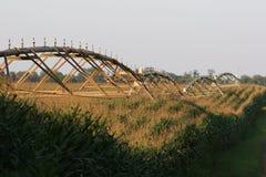 中心灌溉枢轴 免版税库存照片