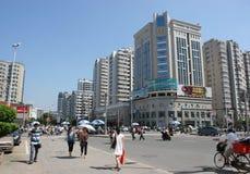 中心瓷城市 免版税图库摄影