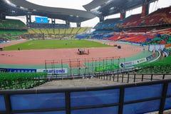 中心瓷广州奥林匹克体育运动 库存图片