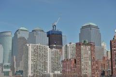 中心自由塔贸易世界 库存照片