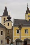 中心自治市Sarleinsbach -奥地利 库存图片