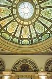 中心芝加哥文化内部 免版税库存图片