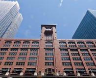 中心芝加哥街市murdoch reid 免版税图库摄影