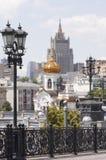 中心莫斯科 库存照片