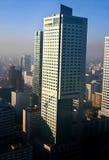 中心行业波兰华沙 免版税库存图片