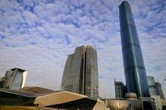 中心财务广州gzifc国际 库存图片