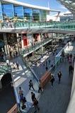 中心购物的利物浦一 库存照片