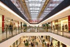 中心购物 库存图片