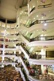 中心购物 免版税库存图片