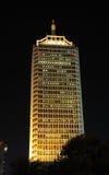 中心迪拜商业世界 库存照片