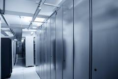 中心通信服务器 库存图片