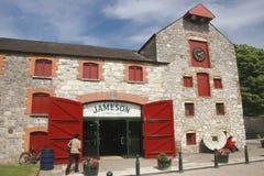 中心遗产爱尔兰jameson midleton 库存图片