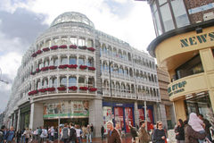 中心都伯林绿色s购物斯蒂芬 免版税库存照片