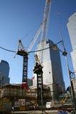 中心重建贸易世界 免版税库存照片