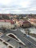 中心维尔纽斯,立陶宛 图库摄影