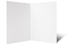 中断传单折叠一 免版税库存照片